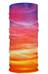 HAD Extra Long sjaal oranje/violet